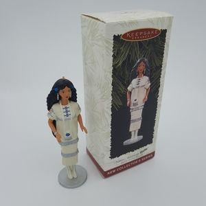 Barbie Hallmark Keepsake Ornament Native American